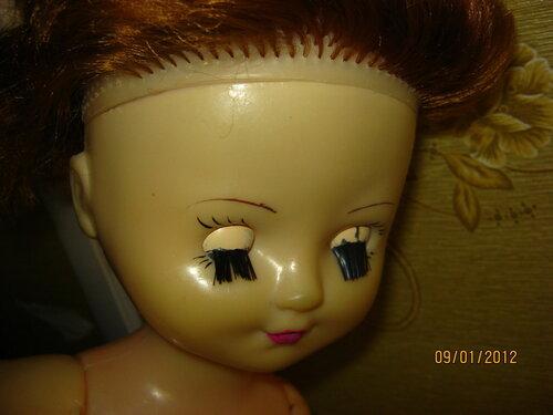 Как сделать ресницы из куклы 282
