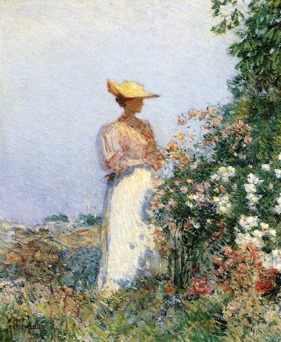 Lady in Flower Garden, 1891.jpeg