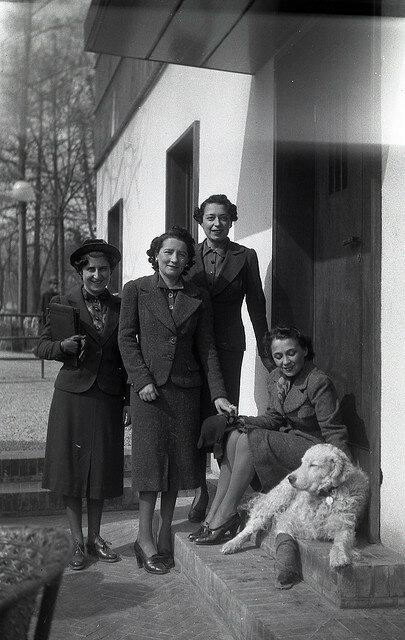 Итальянки военной поры. Болонья. 1940-1945