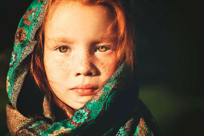 Трогательные детские портреты