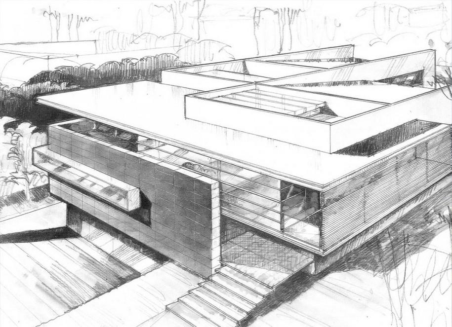 Godoy House в Мексике от Hernandez Silva Architects