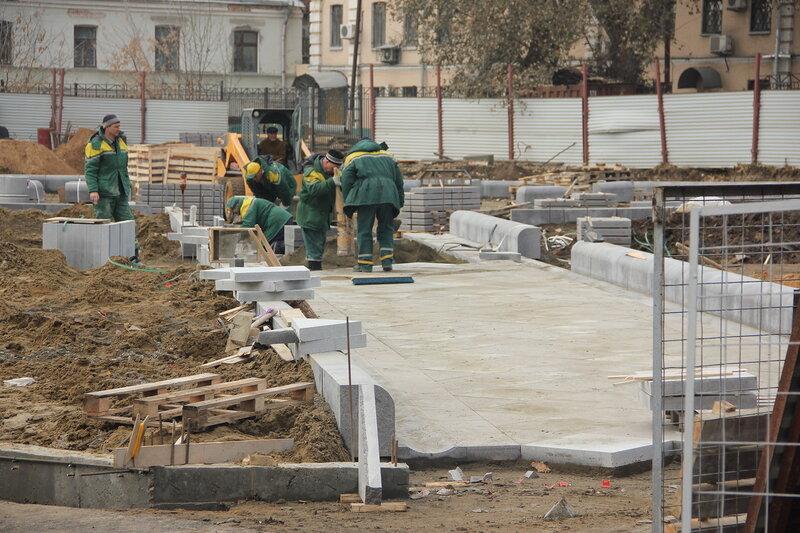Искажение облика Хитровской площади. 06.11.2014