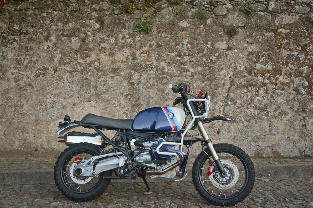 Ton-Up Garage: скрэмблер BMW R1200GS