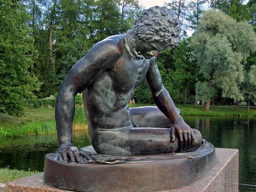Умирающий галл. Екатерининский парк. Пушкин