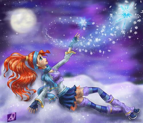 Конкурс Winx самая лучшая принцесса Блум!