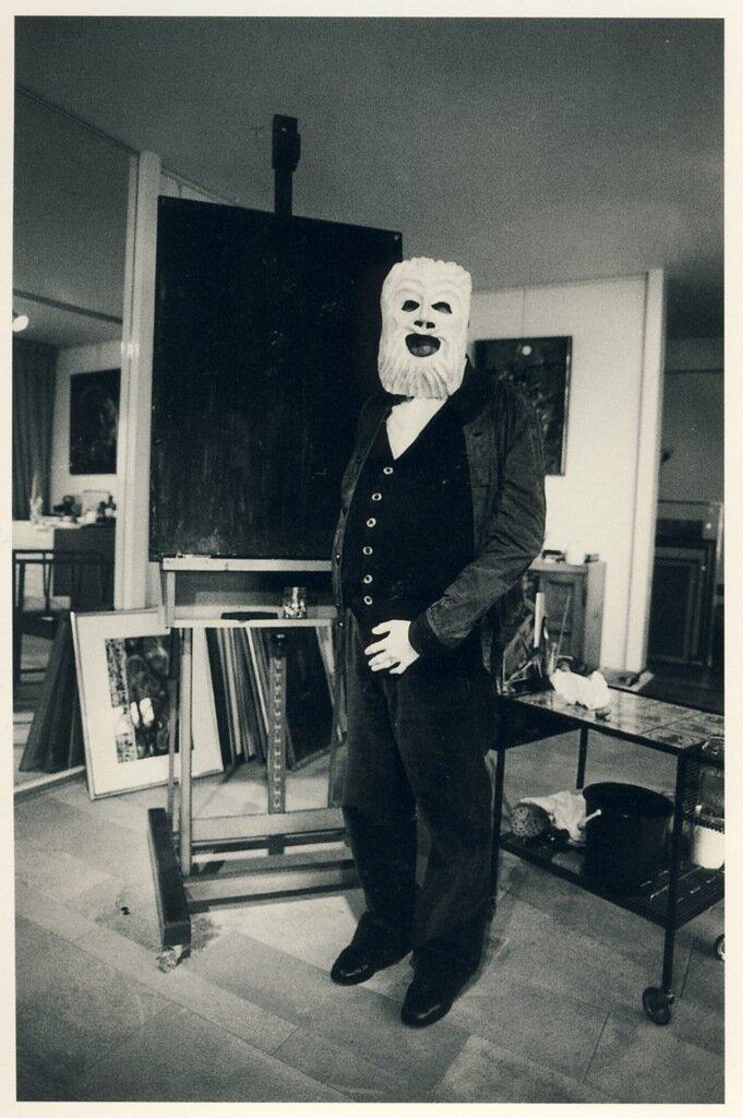 Фридрих Дюрренматт, 1986 (фотограф: Роберт Лебек)