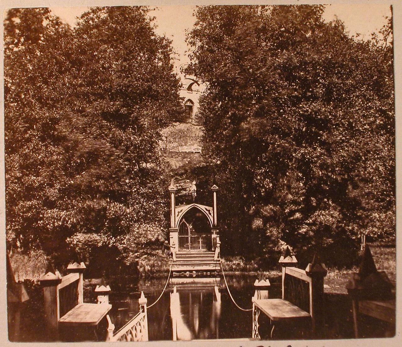 15. Вид паромной переправы и входных ворот на остров Людвигштайн