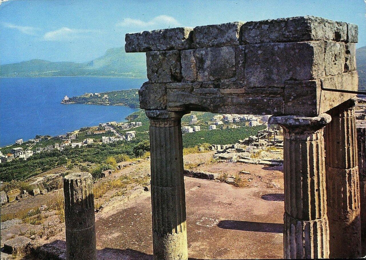 Солунт. Руины храма