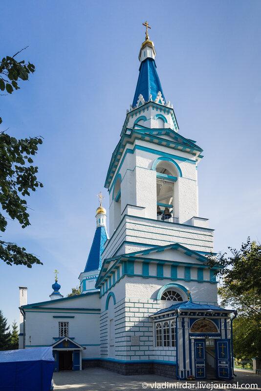 Колокольня Храма Рождества Христова в Беседах