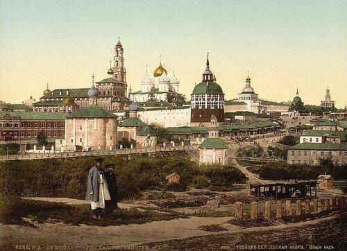 Троице-Сергиева лавра 19 век