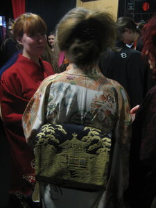 наши кимоно на выставке