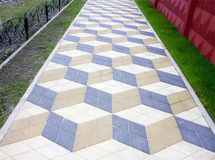 И так технология укладки тротуарной плитки своими руками.