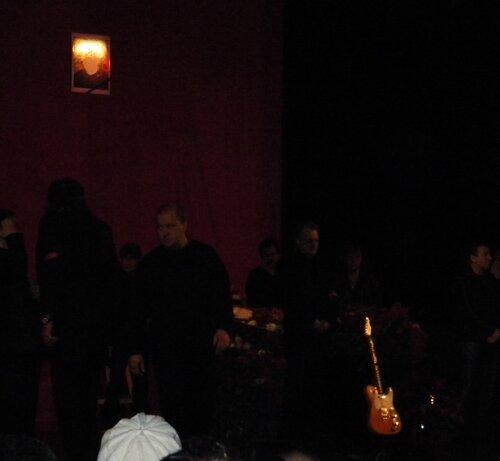 Прощание с Сашей Барыкиным - гитара*