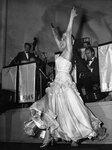 Josephine Baker W/Hands In Air