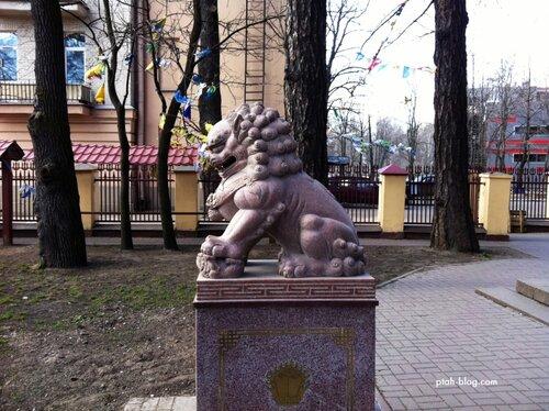дракон, буддийский храм, санкт-петербург