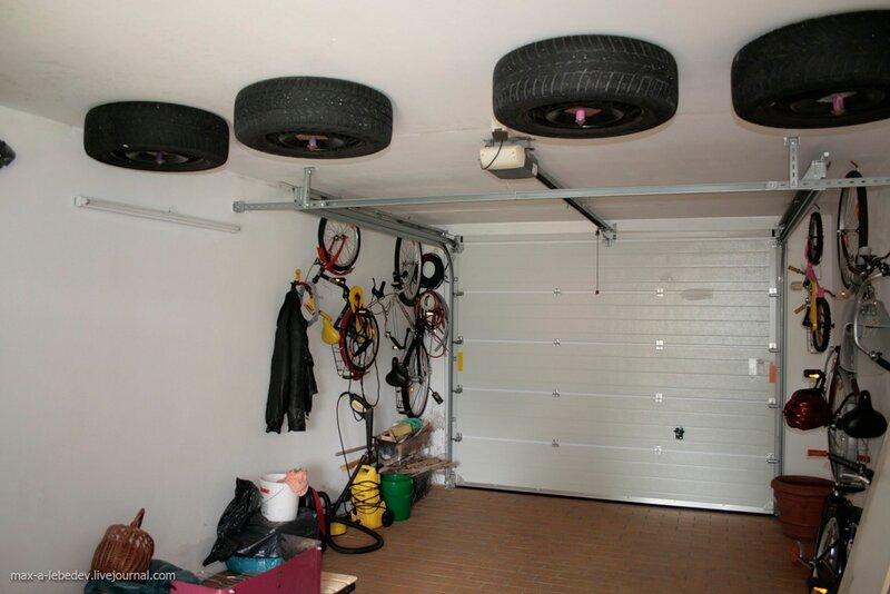 способы хранения лодки в гараже