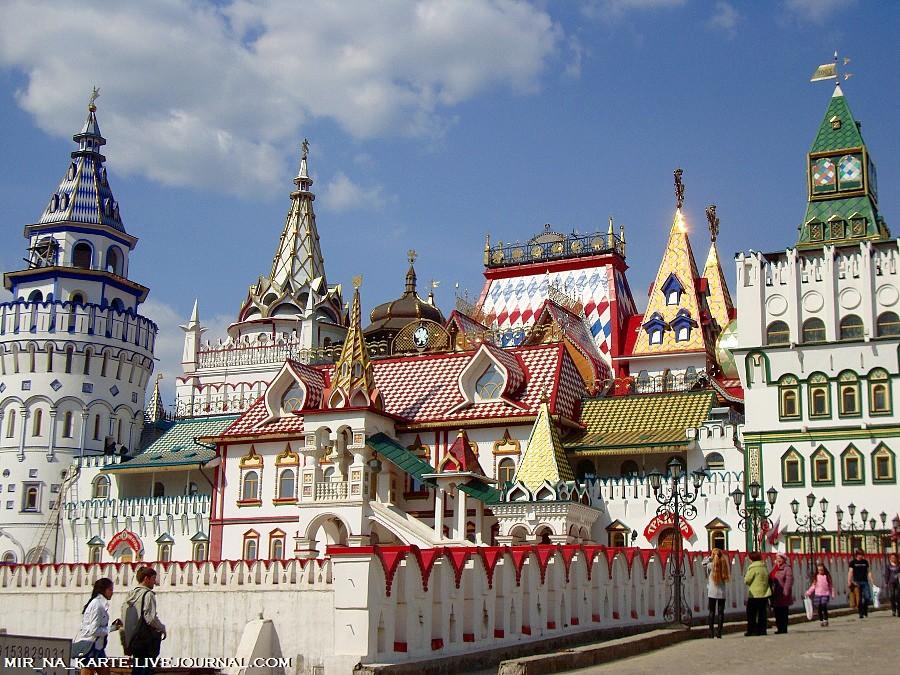 """""""Кремль в Измайлово """" - культурно-развлекательный комплекс, расположенный в Восточном административном округе г..."""