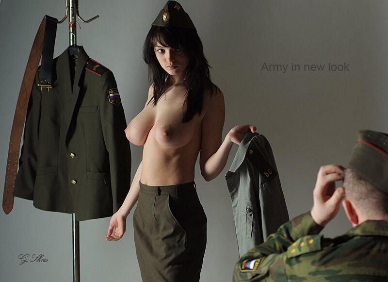 девушки в армии фото голые