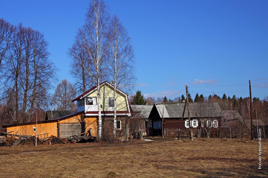 Деревня Белоглазово