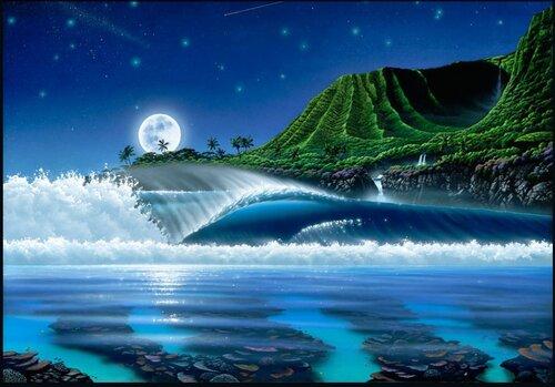 Fantazi manzara resimleri 1 fantazi manzara çok güzel manzara