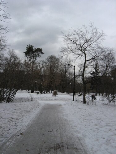 сквер ленинградский проспект