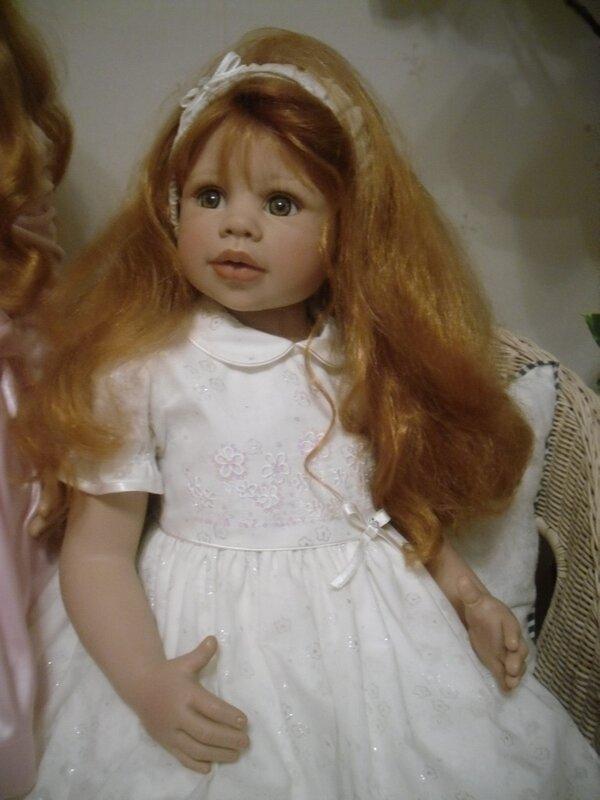 Коллекционная кукла CECILIE от М.Левениг! Знакомство!