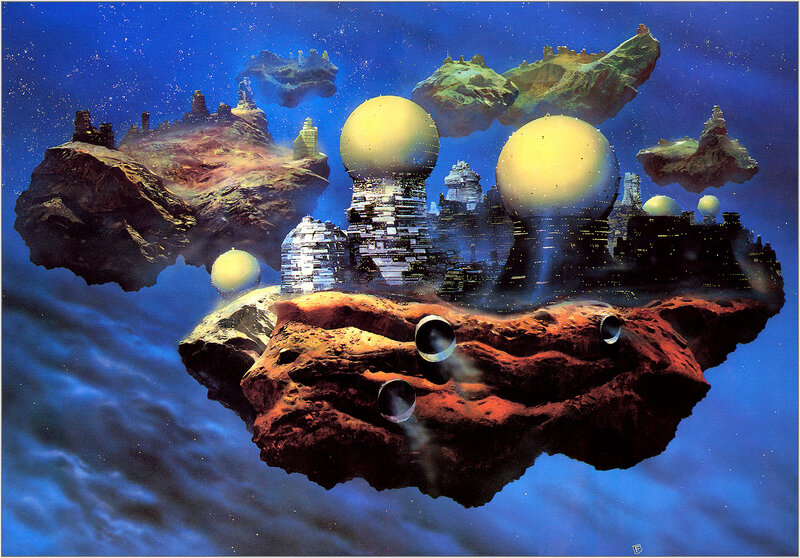 Крис Фосс. Chris Foss Floating Cities.jpg