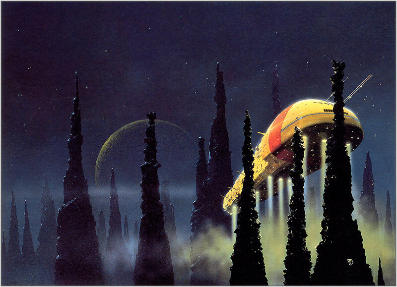 Крис Фосс. Chris Foss Stalactite King.jpg
