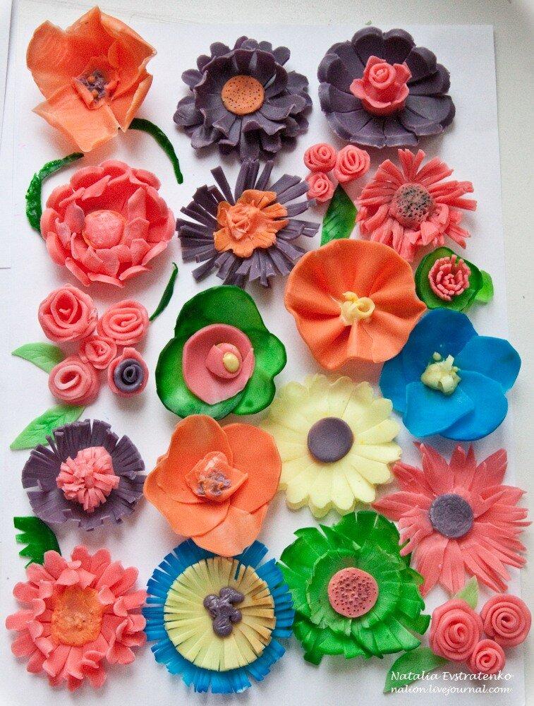Ваш личный цветочный ковёр - цветы из мыла!