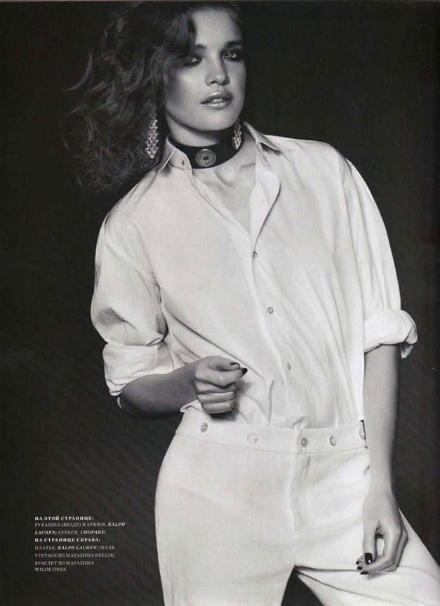 Наталья Водянова / Natalia Vodianova by Bruno Barbazan in Harpers Bazaar Russia april 2011