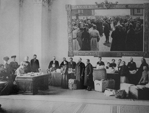 Вел.Кн.собирает пожертвования 1904г