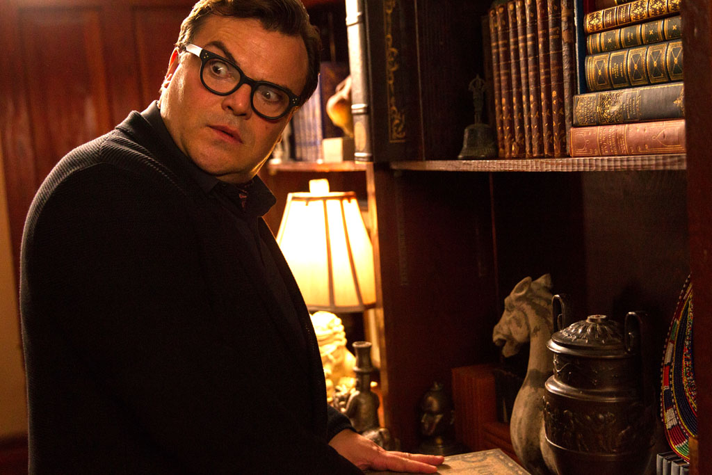 "Jack Black stars in Columbia Pictures' ""Goosebumps."" - Goosebumps"
