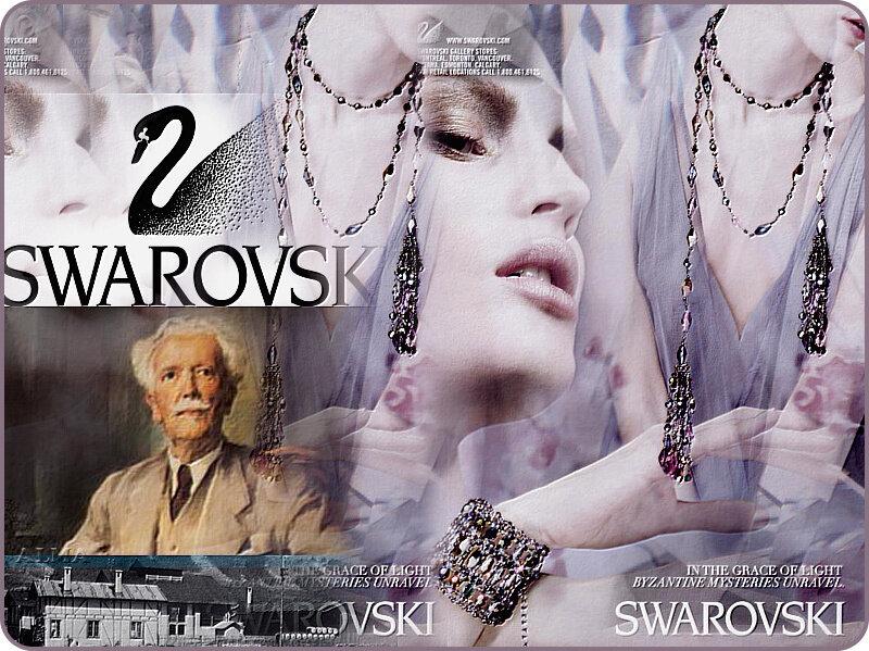 Хрустальная  империя Swarovski. Часть- 1.