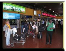 Кения. Аэропорт Найроби