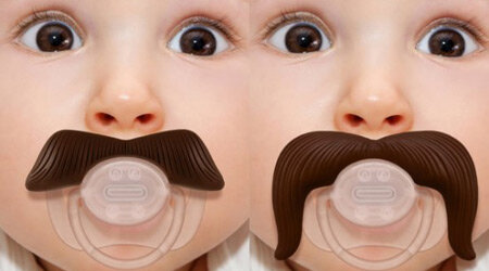соска с усами Mustachifier Baby Pacifier
