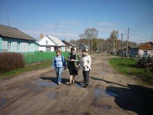Съёмка Брянского телевидения.На улице Комсомольской.