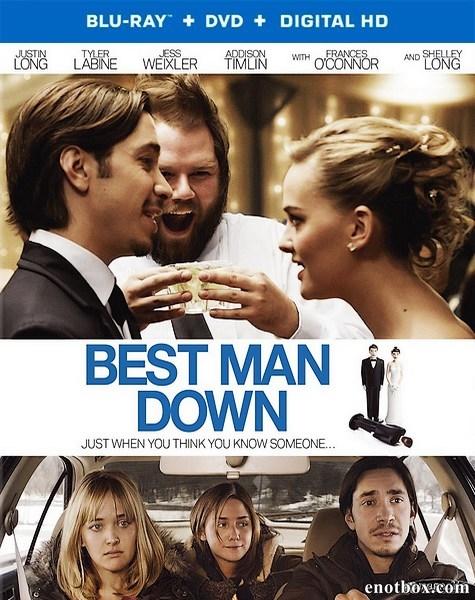 Смерть свадебного свидетеля / Best Man Down (2013/BDRip/HDRip)
