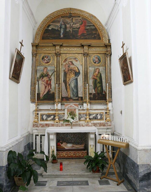 Ischia, Forio. St. Vitus Church (Chiesa di San Vito)
