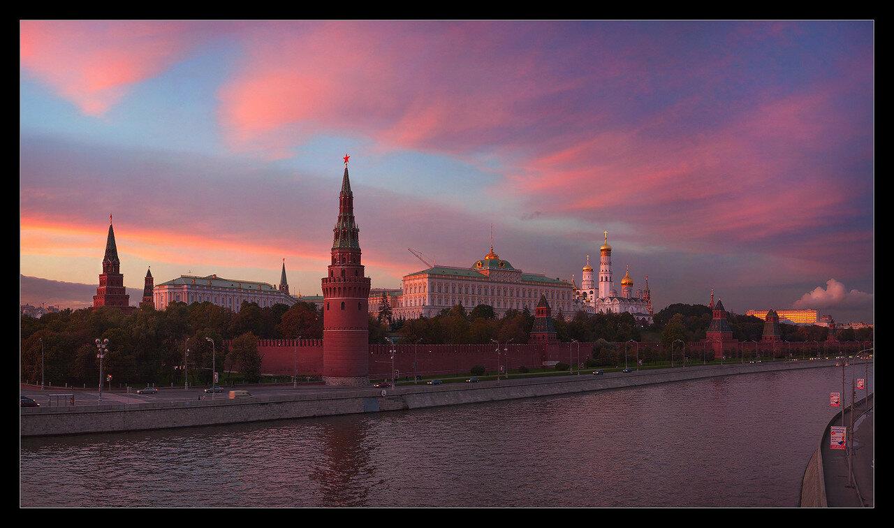 Закат над кремлём II