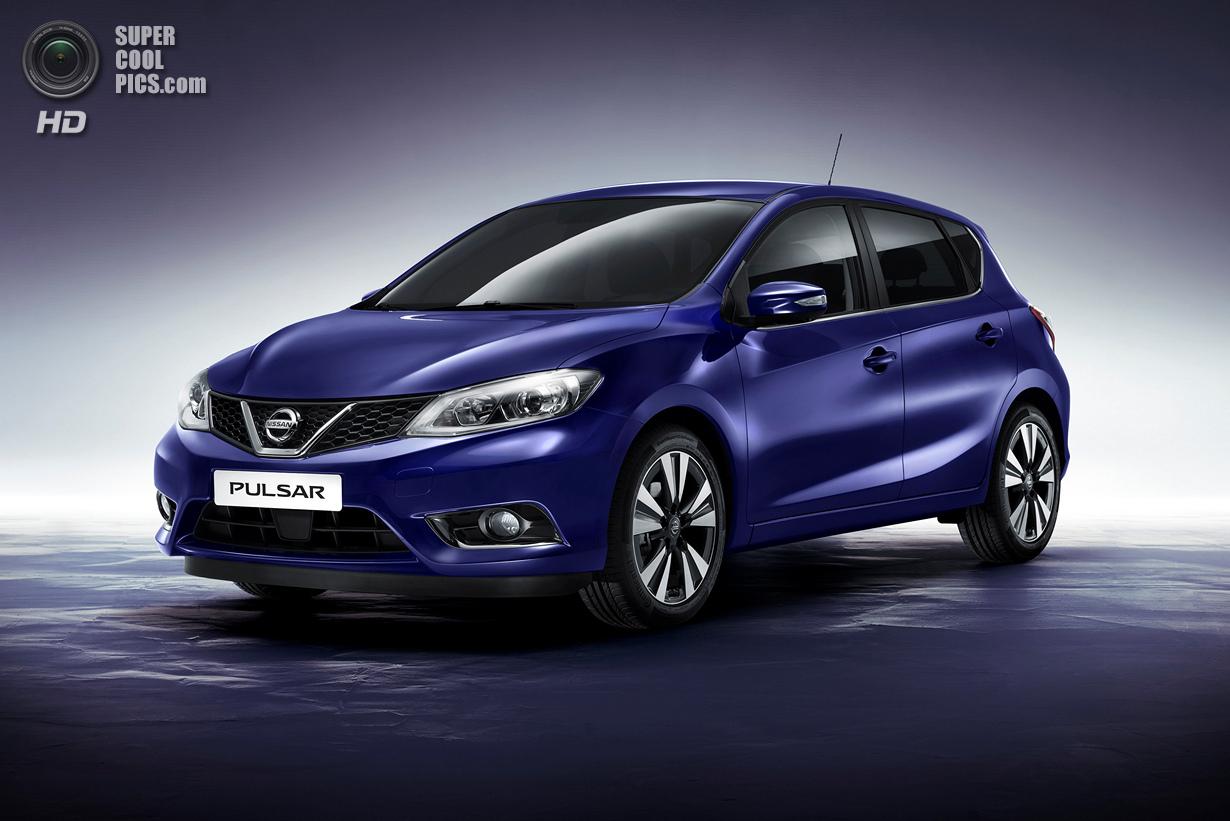 Nissan Pulsar: Конкурент «Гольфа» и «Фокуса» (10 фото)