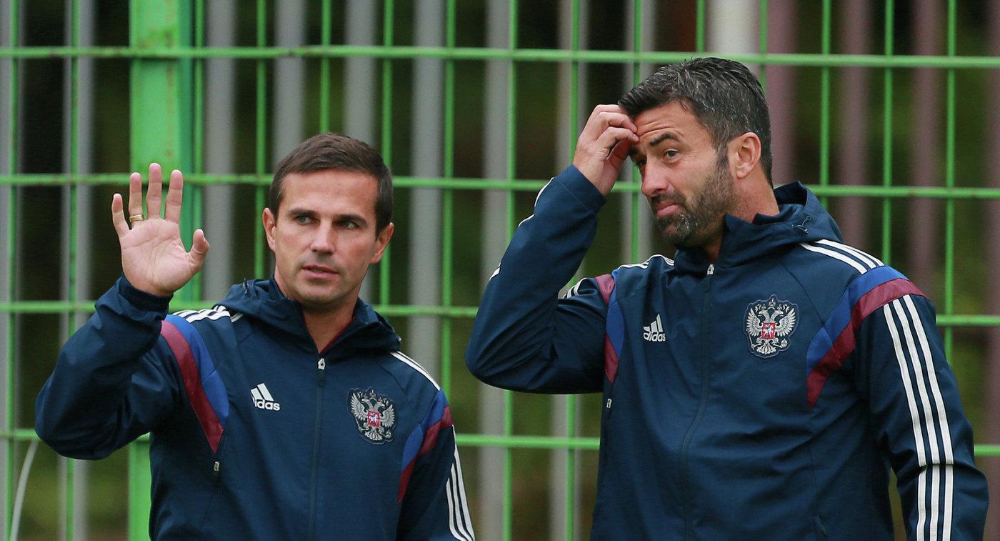 Симутенков будет ассистентом основного тренера «Зенита»