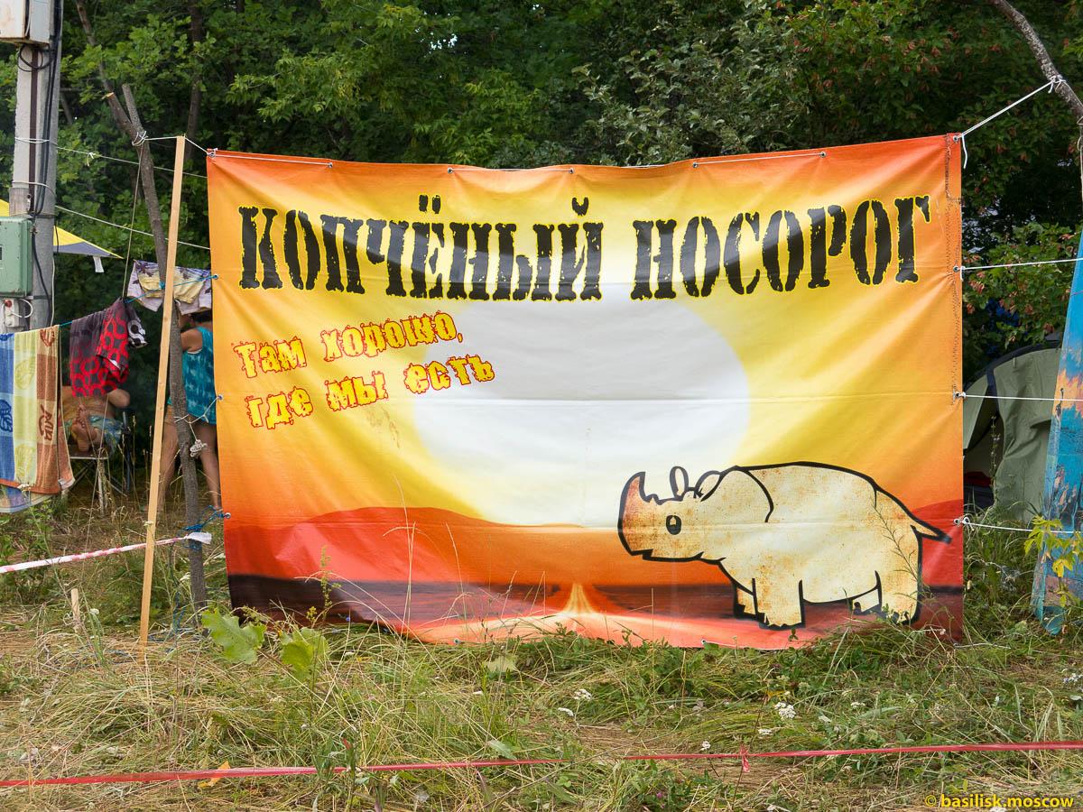 Поляна Грушинского фестиваля. Июль 2015.