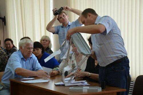 Отчет главы Куйбышева, 45 сессия Совета депутатов города