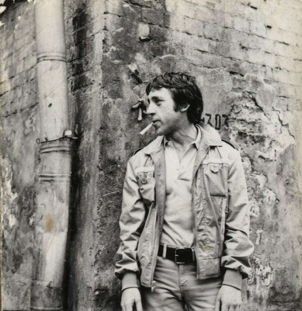 В.Высоцкий, Москва, Нижнетаганский тупик, 3. Май 1979. Фото В.Мурашко.