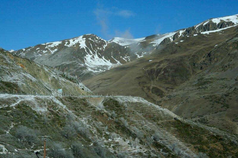 Дорога в Пиренеях