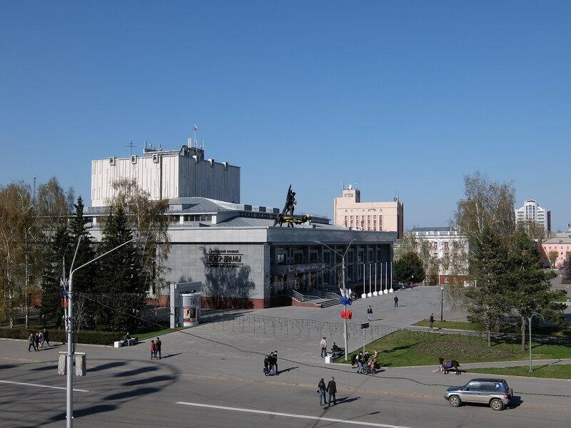 Барнаул - Театр Драмы имени Шукшина