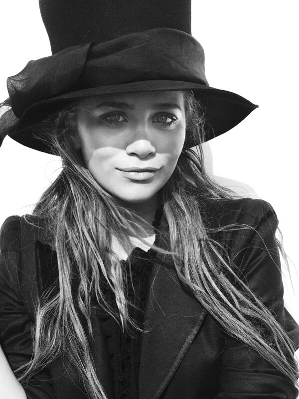 Ashley Olsen by Ruven Afanador