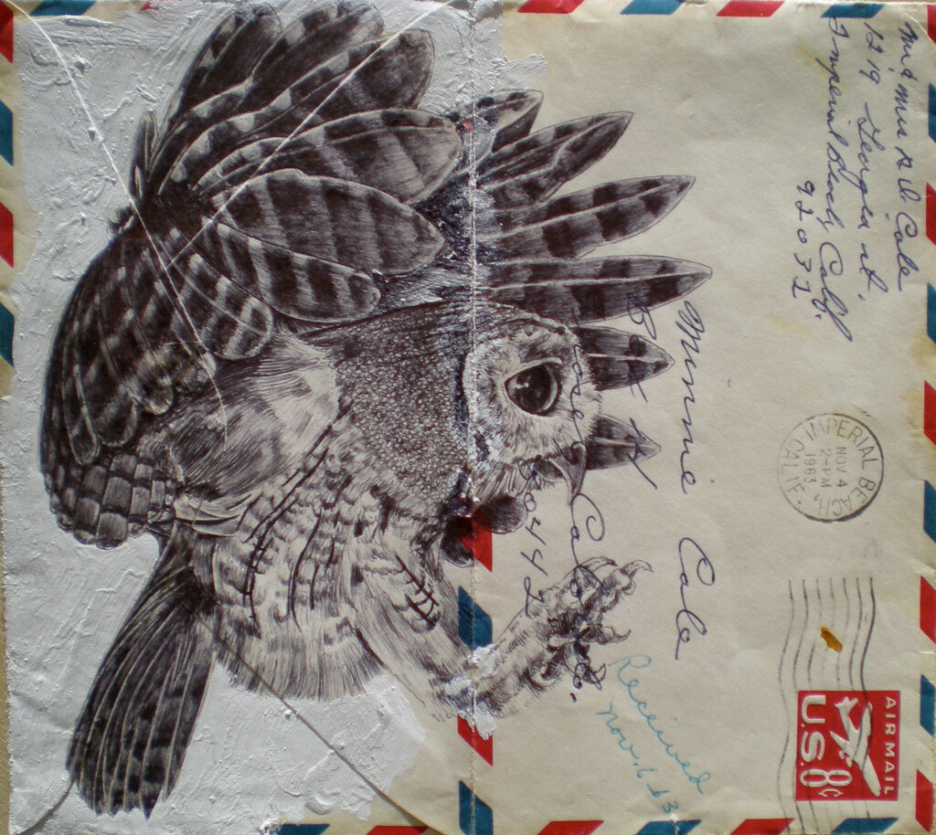Mark Powell on 1960s envelope