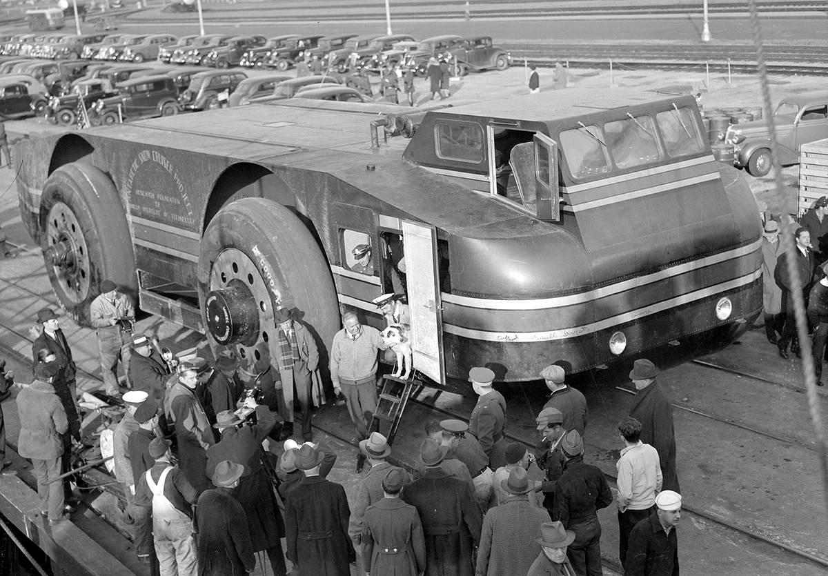 Снежный крейсер: История одного неудачного американского проекта по исследованию Арктики (1939 год) (10)