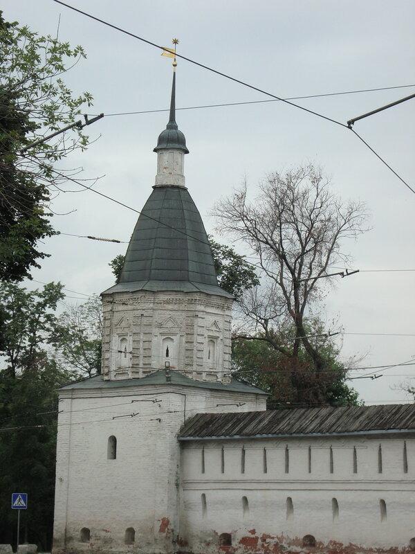Москва. Спасо-Андроников монастырь. Юго-Восточная башня